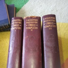 Libros de segunda mano: OBRAS COMPLETAS DOSTOYEVSKI. Lote 157945364