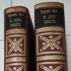 Libros de segunda mano: 2 TOMOS EL JUDIO ERRANTE. EUGENIO SUE.. Lote 158131938