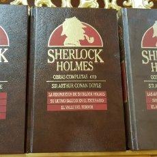 Libros de segunda mano: SERLOCK HOLMES ,OBRAS COMPLETAS.. Lote 158221049