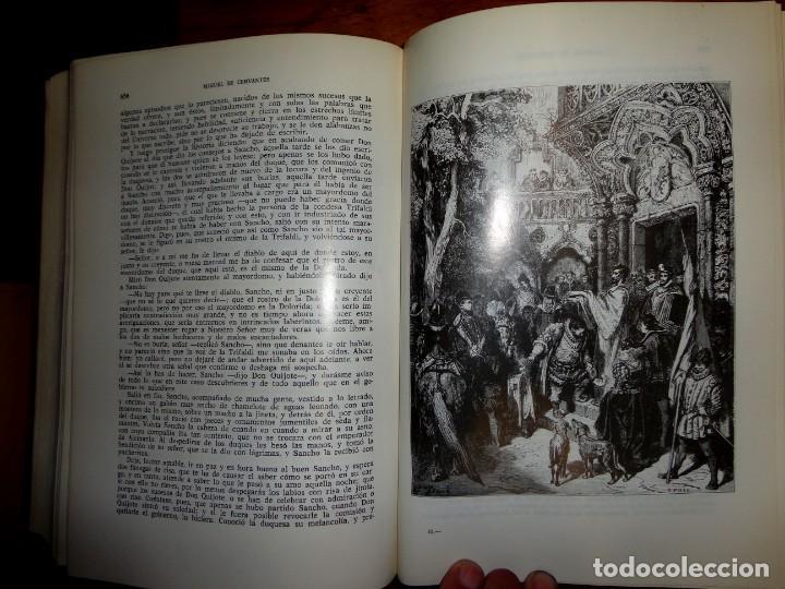 Libros de segunda mano: DON QUIJOTE DE LA MANCHA. MIGUEL DE CERVANTES. J.PEREZ DEL HOYO, 1971. ILTR. DE GUSTAVO DORE - Foto 4 - 158277514