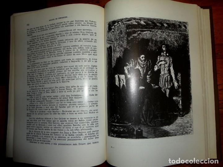 Libros de segunda mano: DON QUIJOTE DE LA MANCHA. MIGUEL DE CERVANTES. J.PEREZ DEL HOYO, 1971. ILTR. DE GUSTAVO DORE - Foto 5 - 158277514