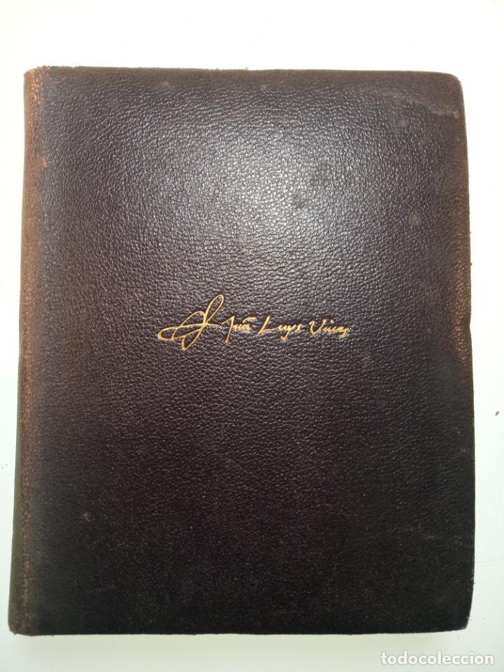 Libros de segunda mano: Obras completas. Juan Luis Vives. Dos tomos. primera edición. Aguilar. Madrid. 1947. - Foto 2 - 158307810