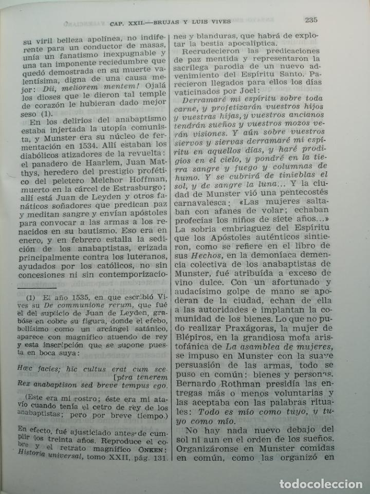 Libros de segunda mano: Obras completas. Juan Luis Vives. Dos tomos. primera edición. Aguilar. Madrid. 1947. - Foto 6 - 158307810