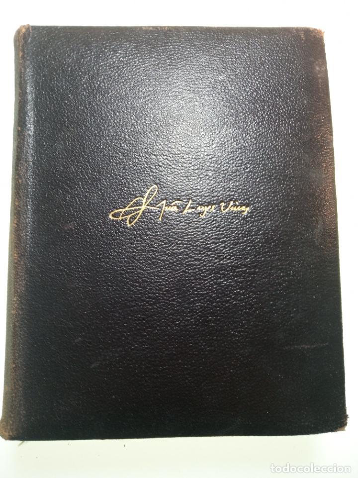 Libros de segunda mano: Obras completas. Juan Luis Vives. Dos tomos. primera edición. Aguilar. Madrid. 1947. - Foto 10 - 158307810