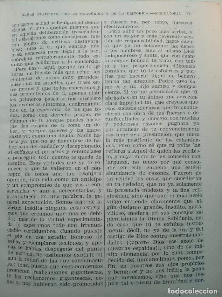 Libros de segunda mano: Obras completas. Juan Luis Vives. Dos tomos. primera edición. Aguilar. Madrid. 1947. - Foto 13 - 158307810