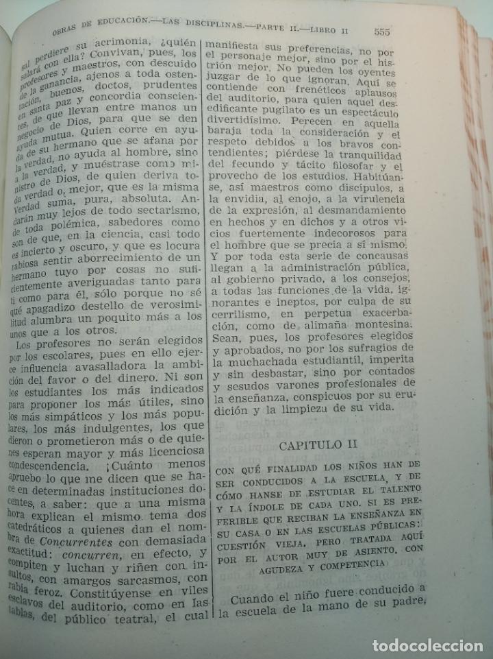 Libros de segunda mano: Obras completas. Juan Luis Vives. Dos tomos. primera edición. Aguilar. Madrid. 1947. - Foto 14 - 158307810