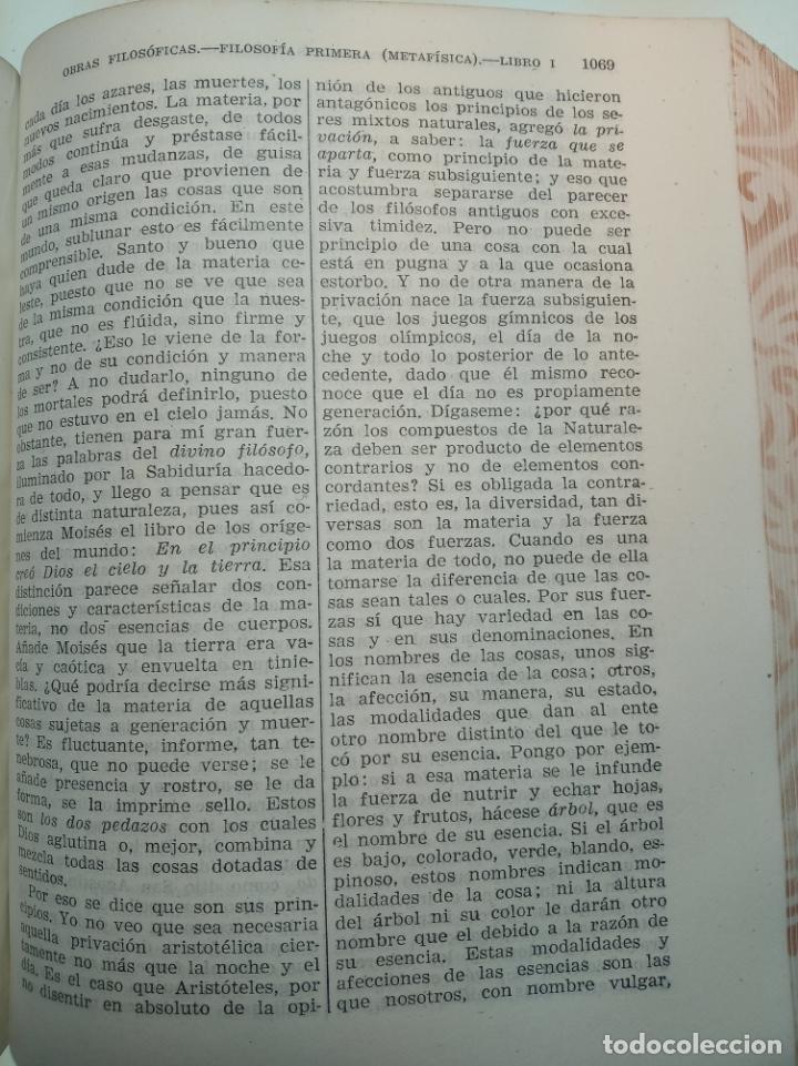 Libros de segunda mano: Obras completas. Juan Luis Vives. Dos tomos. primera edición. Aguilar. Madrid. 1947. - Foto 15 - 158307810