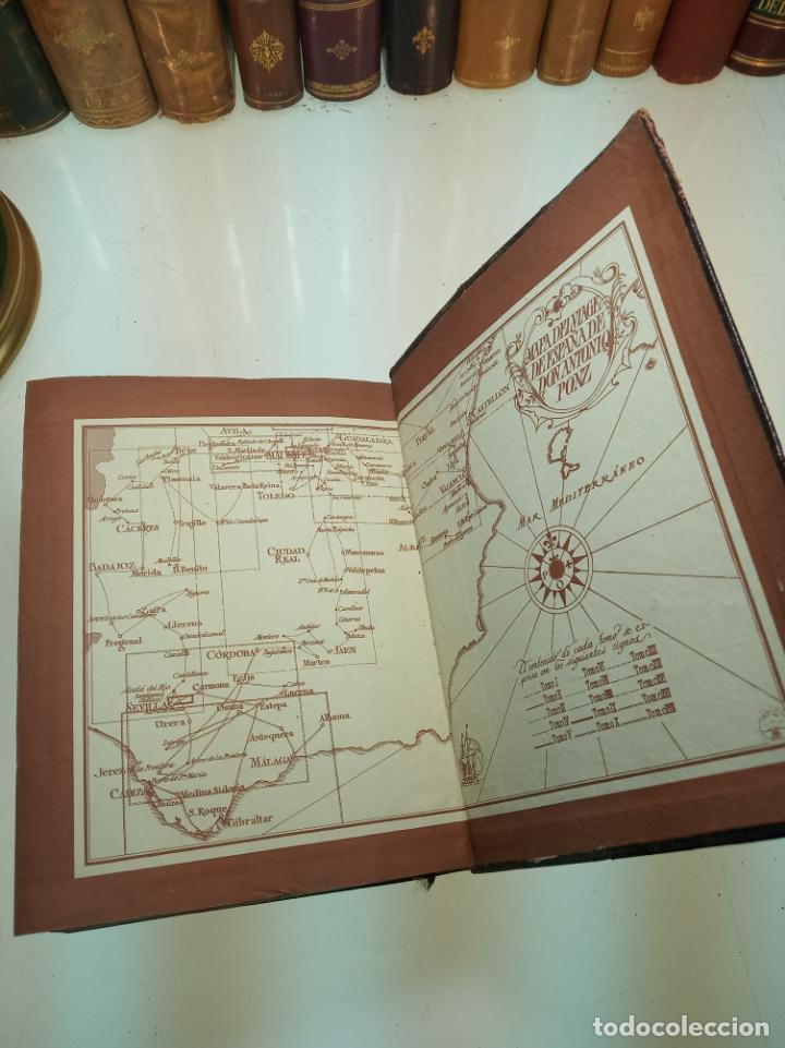 Libros de segunda mano: Viaje de España. Antonio Ponz. Primera edición. Aguilar. Madrid. 1947. - Foto 10 - 158309542