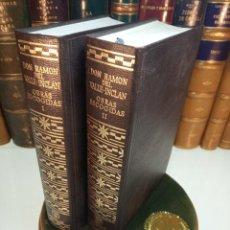 Libros de segunda mano: OBRAS ESCOGIDAS. DON RAMÓN DEL VALLE-INCLÁN. DOS TOMOS. AGUILAR. MADRID. 1974.. Lote 158313402