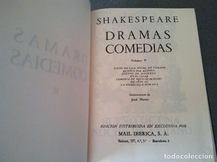 Libros de segunda mano: William Shakespeare - Foto 5 - 158412370