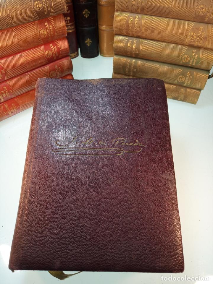 Libros de segunda mano: Obras completas. Jose María Pereda. Primera edición. M. Aguilar. Madrid. 1934. - Foto 2 - 158420818