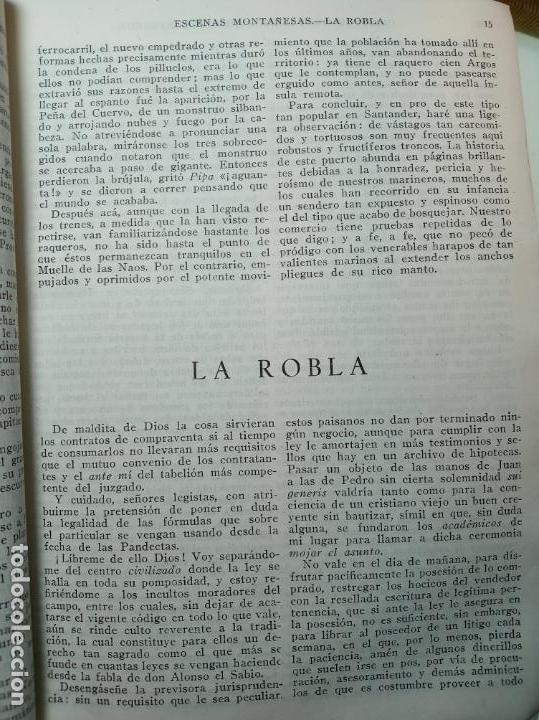 Libros de segunda mano: Obras completas. Jose María Pereda. Primera edición. M. Aguilar. Madrid. 1934. - Foto 5 - 158420818