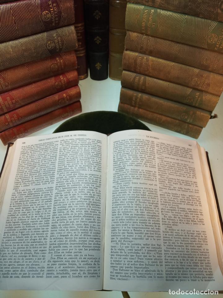 Libros de segunda mano: Obras completas. Jose María Pereda. Primera edición. M. Aguilar. Madrid. 1934. - Foto 7 - 158420818
