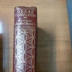 Libros de segunda mano: ENRIQUE JARDIEL PONCELA OBRAS COMPLETAS TOMO IV 4. Lote 158469662