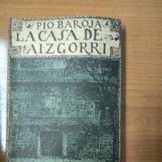 Libros de segunda mano: BAROJA, PÍO: LA CASA DE AIZGORRI. TIERRA VASCA. ILUSTRADA POR RICARDO BAROJA.. Lote 158472114