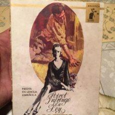 Libros de segunda mano: ANTIGUO LIBRO AGATHA CHRISTIE POIROT INFRINGE LA LEY AÑO 1966. Lote 158478062