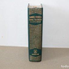 Libros de segunda mano: EDITORIAL AGUILAR. OBRAS TEATRALES ESCOGIDAS. ENRIQUE JARDIEL PONCELA. 5ª EDICION 1ª REIMPRESIÓN1968. Lote 158591770