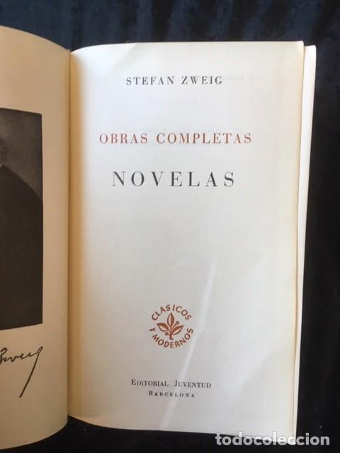 Libros de segunda mano: ZWEIG - OBRAS COMPLETAS 4 TOMOS - I NOVELAS II y III . BIOGRAFIAS IV . MEMORIAS Y ENSAYOS - JUVENTUD - Foto 2 - 158720118