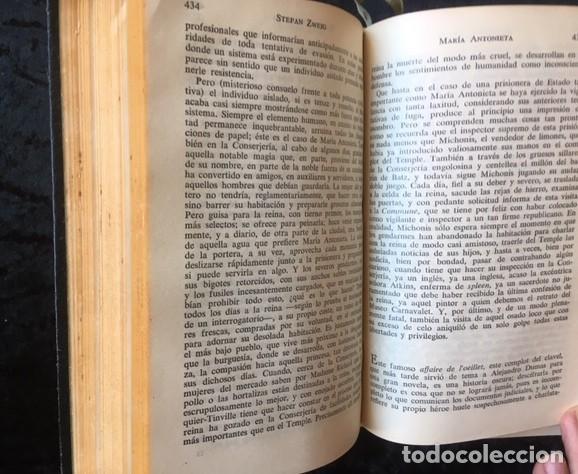 Libros de segunda mano: ZWEIG - OBRAS COMPLETAS 4 TOMOS - I NOVELAS II y III . BIOGRAFIAS IV . MEMORIAS Y ENSAYOS - JUVENTUD - Foto 5 - 158720118