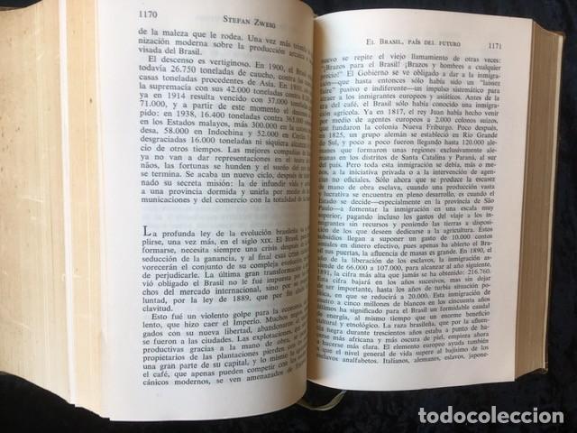 Libros de segunda mano: ZWEIG - OBRAS COMPLETAS 4 TOMOS - I NOVELAS II y III . BIOGRAFIAS IV . MEMORIAS Y ENSAYOS - JUVENTUD - Foto 6 - 158720118