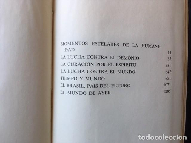 Libros de segunda mano: ZWEIG - OBRAS COMPLETAS 4 TOMOS - I NOVELAS II y III . BIOGRAFIAS IV . MEMORIAS Y ENSAYOS - JUVENTUD - Foto 8 - 158720118