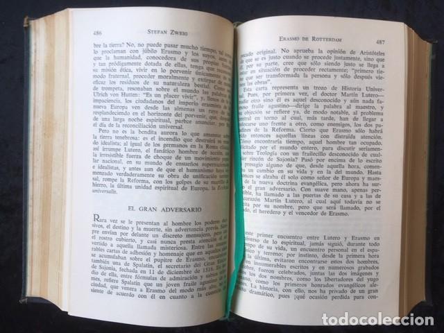 Libros de segunda mano: ZWEIG - OBRAS COMPLETAS 4 TOMOS - I NOVELAS II y III . BIOGRAFIAS IV . MEMORIAS Y ENSAYOS - JUVENTUD - Foto 9 - 158720118