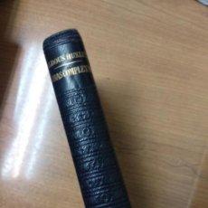Libros de segunda mano: ALDOUS HUXLEY : OBRAS COMPLETAS TOMO I (JOSÉ JANÉS. Lote 159218578