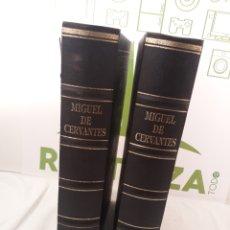 Libros de segunda mano: DON QUIJOTE DE LA MANCHA.2 TOMOS.EDICIONES RUEDA 1994.. Lote 159261920