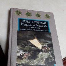 Libros de segunda mano: EL CORAZÓN DE LAS TINIEBLAS Y OTROS RELATOS, DE JOSEPH CONRAD. VALDEMAR, AVATARES. EXCELENTE ESTADO.. Lote 159303398