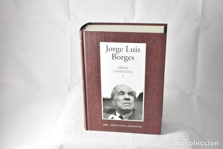 OBRAS COMPLETAS JORGE LUIS BORGES, TOMO I, RBA-INSTITUTO CERVANTES (Libros de Segunda Mano (posteriores a 1936) - Literatura - Narrativa - Clásicos)