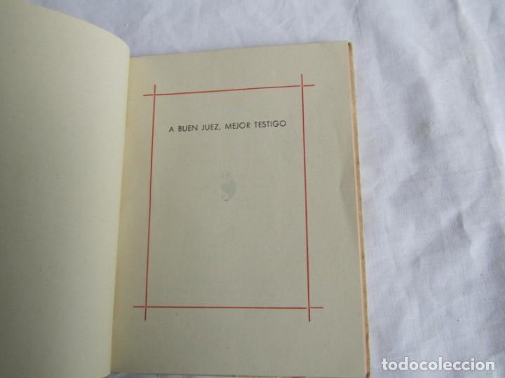 Libros de segunda mano: José zorrilla, a buen juez, mejor testigo. Tradición de Toledo. Colecc. Colibrí 1941 - Foto 6 - 160356974