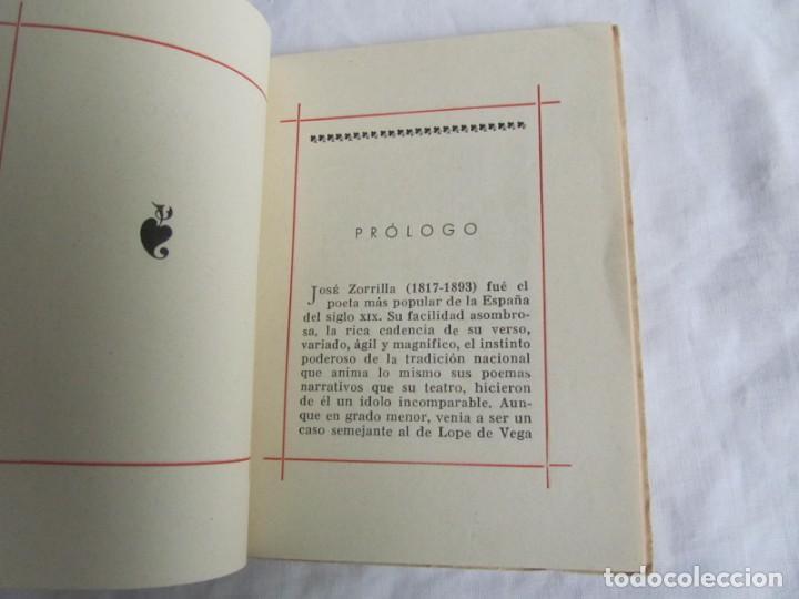 Libros de segunda mano: José zorrilla, a buen juez, mejor testigo. Tradición de Toledo. Colecc. Colibrí 1941 - Foto 9 - 160356974