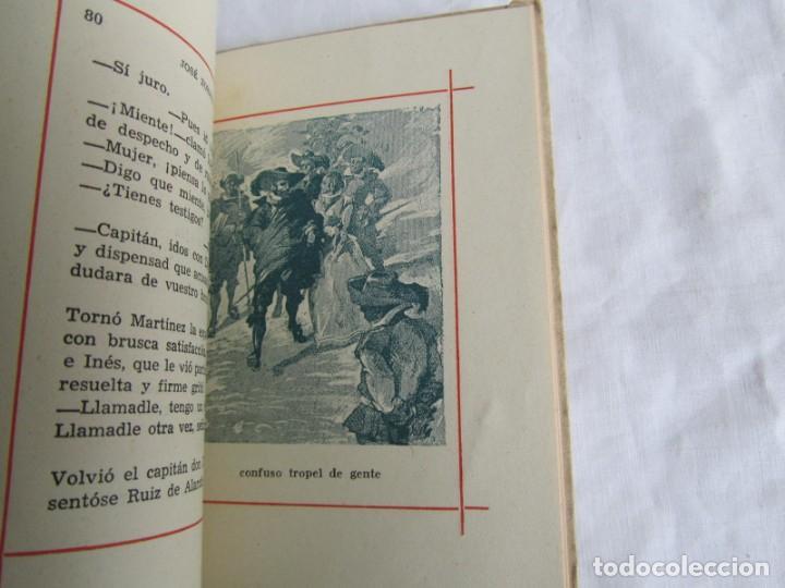 Libros de segunda mano: José zorrilla, a buen juez, mejor testigo. Tradición de Toledo. Colecc. Colibrí 1941 - Foto 10 - 160356974