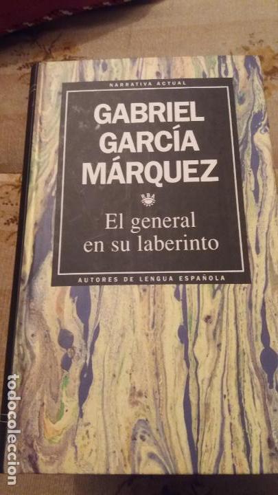 EL GENERAL EN EL LABERINTO - TAPA DURA (Libros de Segunda Mano (posteriores a 1936) - Literatura - Narrativa - Clásicos)