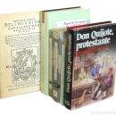 Libros de segunda mano: CERVANTINA - DON QUIJOTE DE LA MANCHA - LOTE DE 8 LIBROS - CERVANTES - QUIXOTE . Lote 160658826