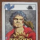 Libros de segunda mano: LA ISLA DEL TESORO (ROBERT L. STEVENSON) ANAYA - CARTONE - BUEN ESTADO. Lote 161004478
