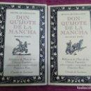 Libros de segunda mano: DON QUIJOTE DE LA MANCHA. DOS TOMOS. COMENTADA POR FRANCISCO RICO. 1991.. Lote 161020786