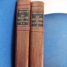 Libros de segunda mano: DON QUIJOTE DE LA MANCHA 2 TOMOS UTHEA. Lote 161310258