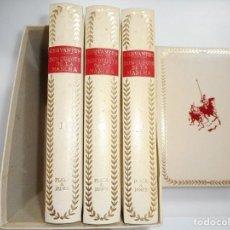 Libros de segunda mano: MIGUEL DE CERVANTES SAAVEDRA DON QUIJOTE DE LA MANCHA(4 TOMOS) Y93840. Lote 162170158