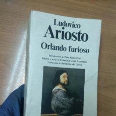 Libros de segunda mano: LUDOVICO ARIOSTO - ORLANDO FURIOSO - PLANETA. Lote 162209186