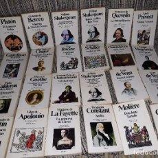 Libros de segunda mano: LOTE 24 LIBROS DE LA LITERATURA CLASICA PLANETA. VER TITULOS. Lote 162337318