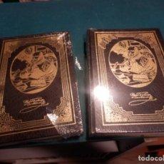 Libros de segunda mano: DON QUIJOTE - MIGUEL DE CERVANTES - DOS TOMOS PRECINTADOS - EDICIONES RUEDA - ILUSTRADOS. Lote 162341394