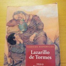 Libros de segunda mano: LAZARILLO DE TORMES (BIENVENIDO MORROS) VICENS VIVES. Lote 162368858