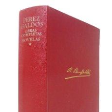 Libros de segunda mano: 1975 - AGUILAR - BENITO PÉREZ GALDÓS: OBRAS COMPLETAS. NOVELAS. TOMO I.. Lote 162708770
