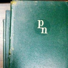 Libros de segunda mano: NOVELAS COMPLETAS Y OTROS ESCRITOS. ANATOLE FRANCE. OBRA EN TRES TOMOS. AGUILAR. 1968.. Lote 163880346