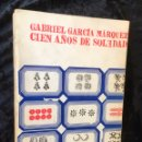 Libros de segunda mano: CIEN AÑOS DE SOLEDAD - GABRIEL GARCIA MARQUEZ - 1969 - PRIMERA EDICIÓN ESPAÑA - VICENTE ROJO. Lote 165200076