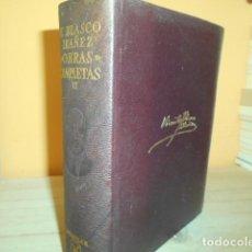 Libros de segunda mano: AGUILAR - OBRAS COMPLETAS II / V.BLASCO IBAÑEZ. Lote 165211930