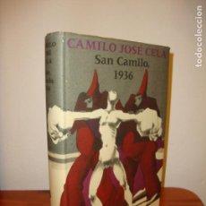 Livros em segunda mão: SAN CAMILO, 1936 - CAMILO JOSÉ CELA, PLA-NARBONA (IL.), MUY BUEN ESTADO. Lote 165296130