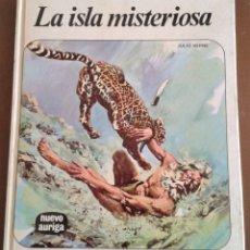 Libros de segunda mano: LA ISLA MISTERIOSA. JULIO VERNE. ED NUEVO AURIGA. 1976. NOVENA EDICIÓN.. Lote 165393082