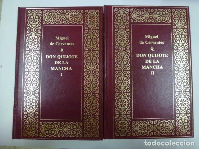 DON QUIJOTE DE LA MANCHA TOMO I Y II. PLANETA. (Libros de Segunda Mano (posteriores a 1936) - Literatura - Narrativa - Clásicos)